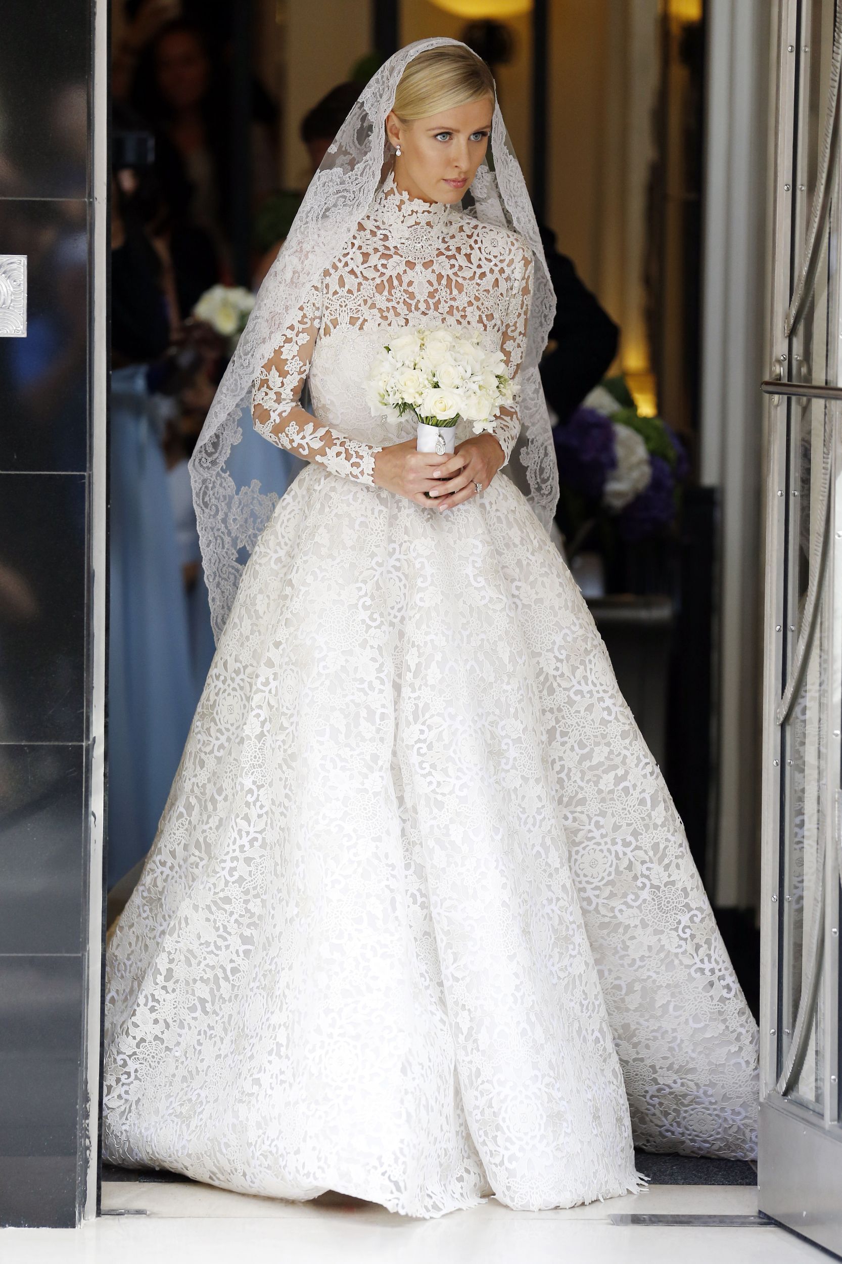 celebrity sightings july 2015 | valentino wedding gowns