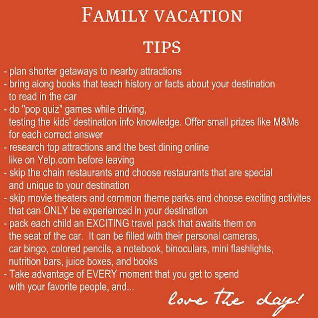 family vacation tips   Travel   Vacation, Vacation trips ...