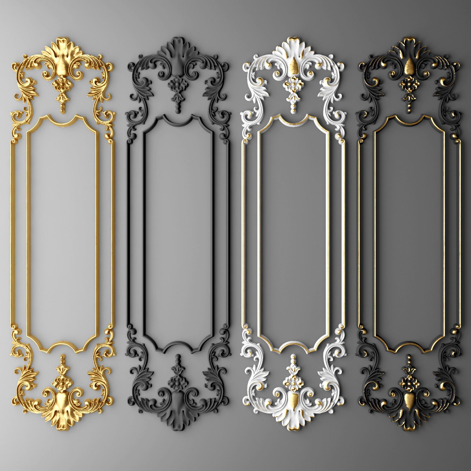 boiserie molding max baroque frames decor wall molding on wall trim id=48659