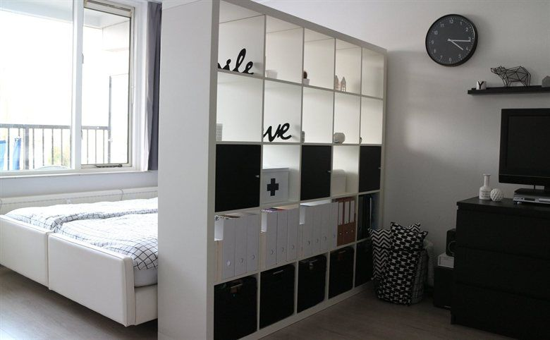 Turn Into Room Two With A UnitClaire's Apartment One 30m2 Kallax 4Acq53RLj
