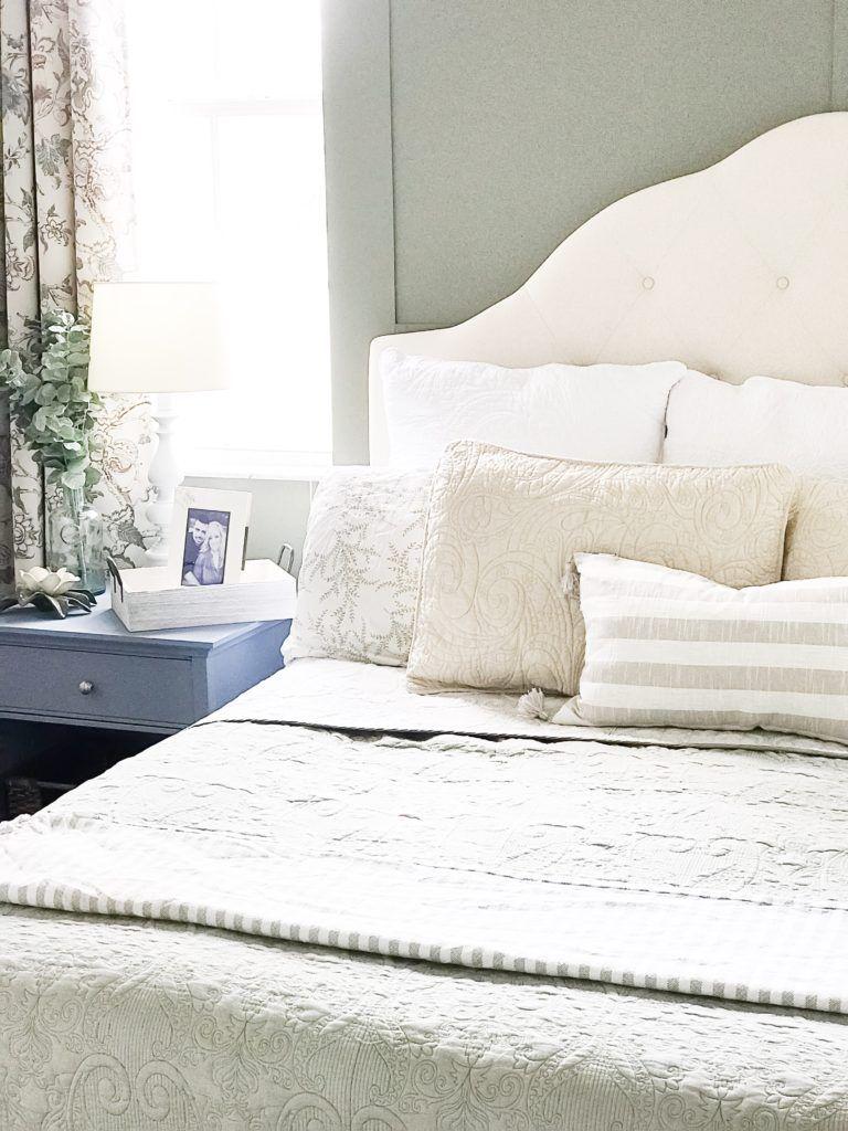Master bedroom green  Our Master Bedroom Makeover  Modern Farmhouse Style  Pinterest
