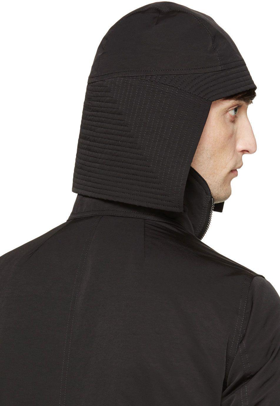 Rick Owens  Black Kabuto Hat  1b36dfb1dd11