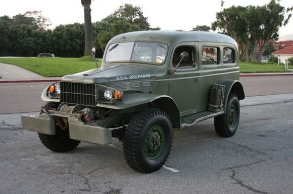1942 Dodge Power Wagon Wc 53 Carryall Dodge Power Wagons Dodge