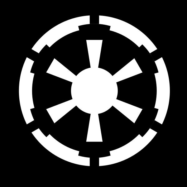 Star Wars Galactic Empire Emblem Svg Png 600 600 Star Wars Decal Galactic Empire Star Wars Inspired