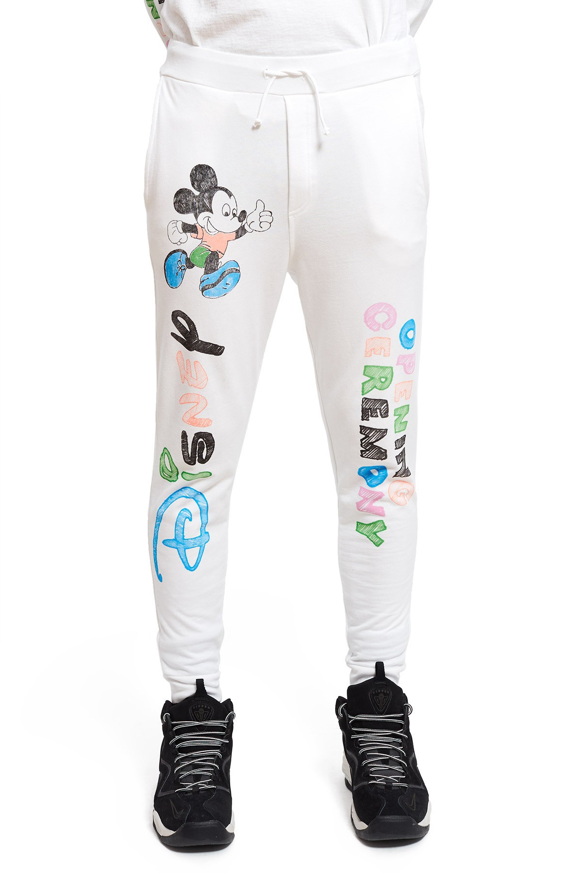 aed2af3f9f5cf4 Opening Ceremony Mickey Mouse Sweatpants - White XS   Products ...