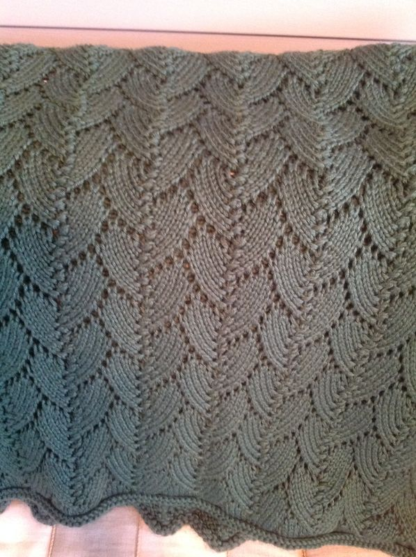 Falling leaves pattern   Pattern, Knitting stitches, Leaf ...
