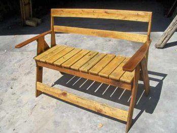 Muebles gratis con palets sillas sillones y mas - Sillas con palets ...