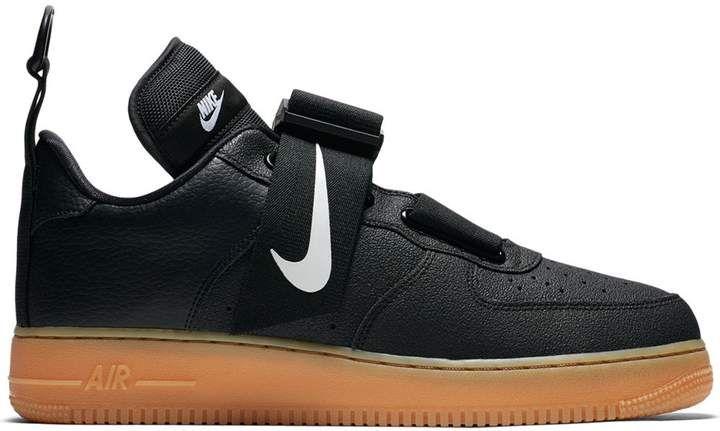 Nike Force 1 Utility Black Gum Nike Air Force Black Black Gums