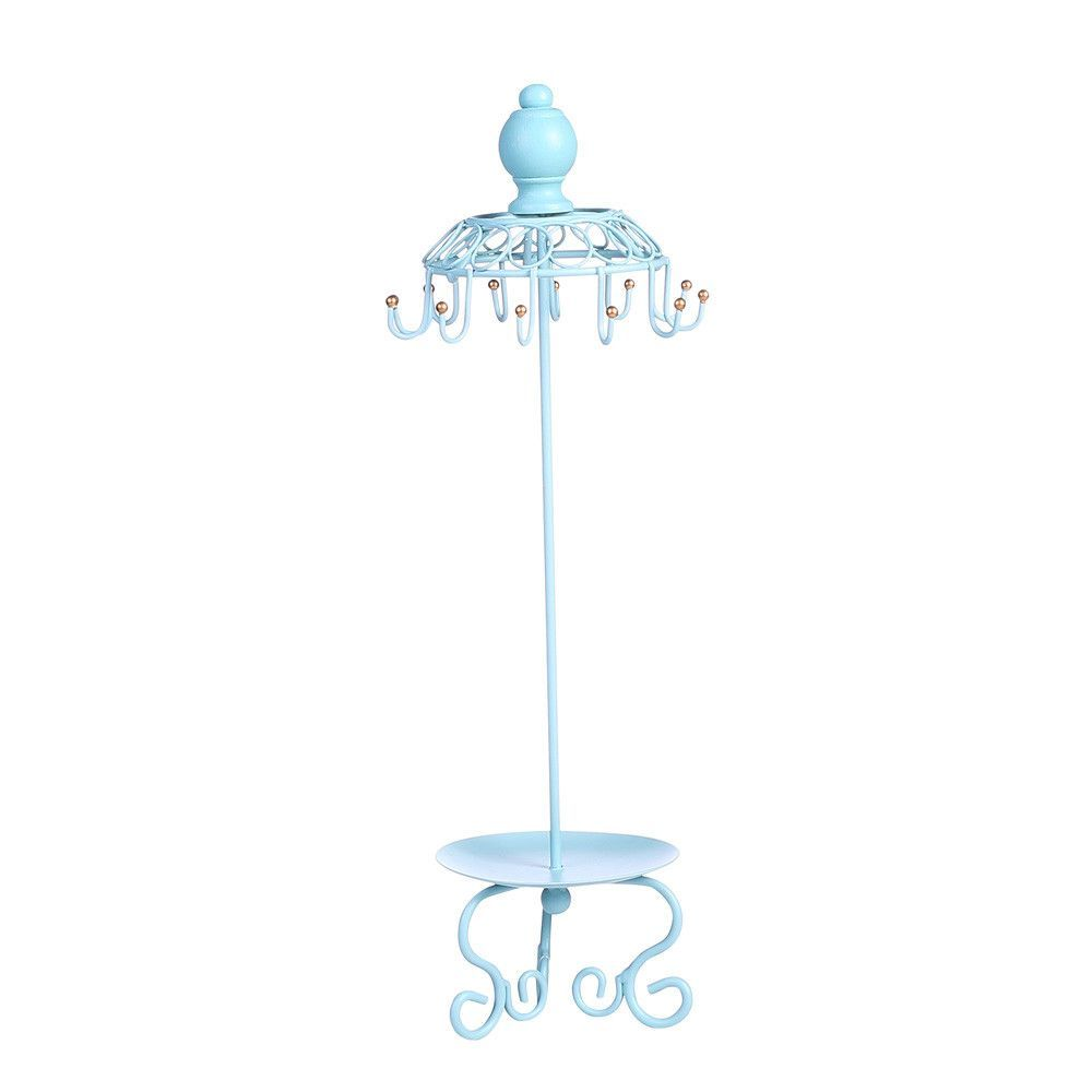 Ikee Design®Metal Jewelry Display Jewelry Stand Hanger Organizer for Necklace, Bracelet, Earrings, Ring