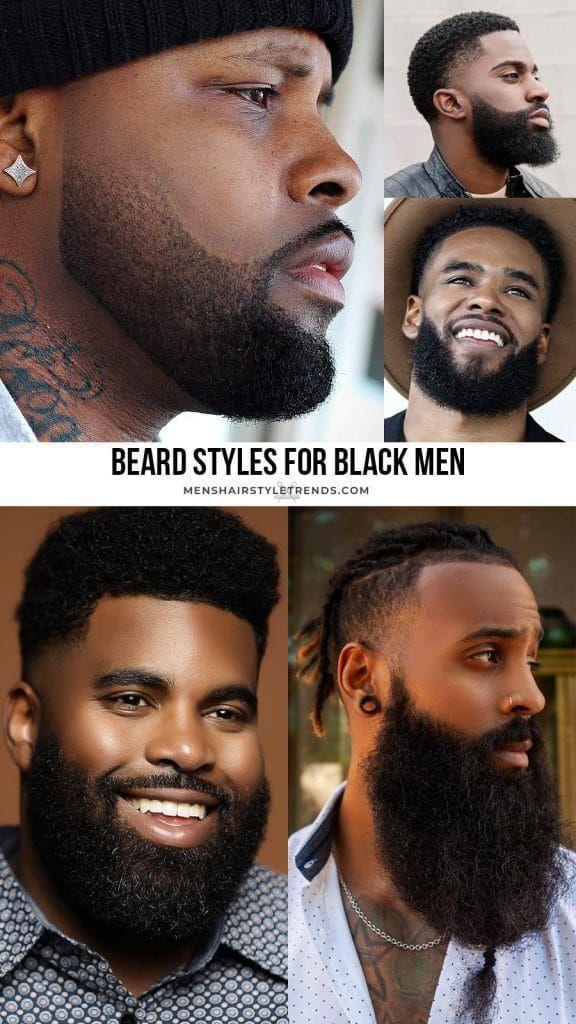 Beard Styles for Black Men: Trendy  Popular For 2020 Black men haircuts Black-me…