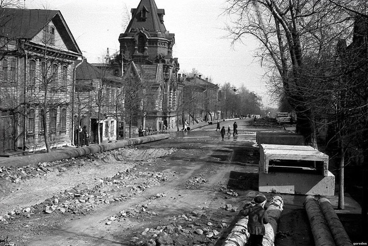 Старые фото улица большая марьинская другой