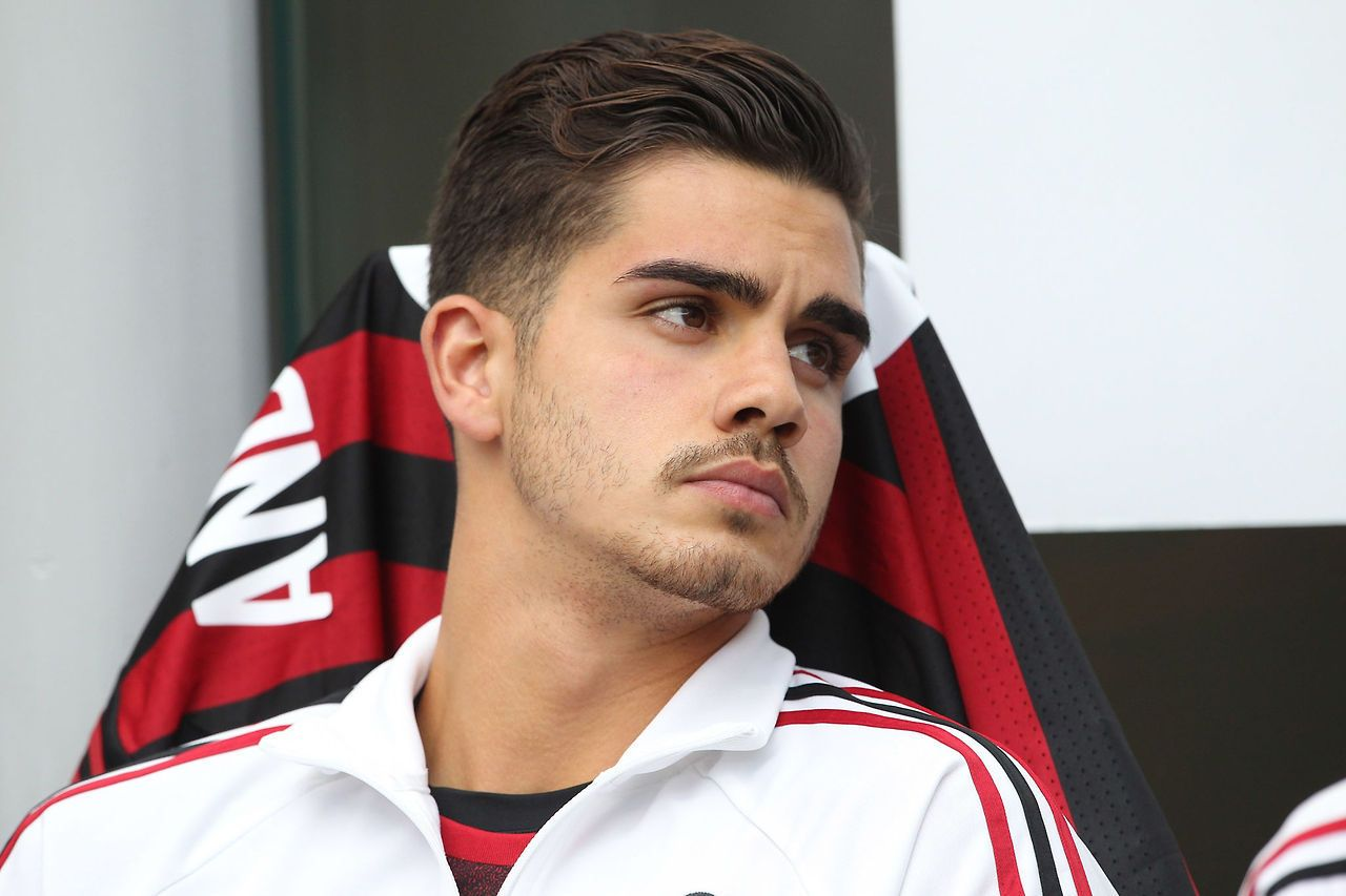 Andre Silva AC Milan Football is my aesthetic