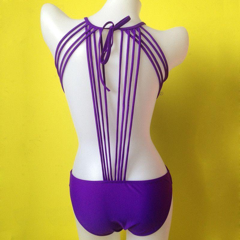 Ladies High Cut Swimsuit