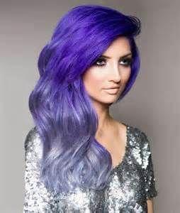 Dark purple with silver ombre! <3