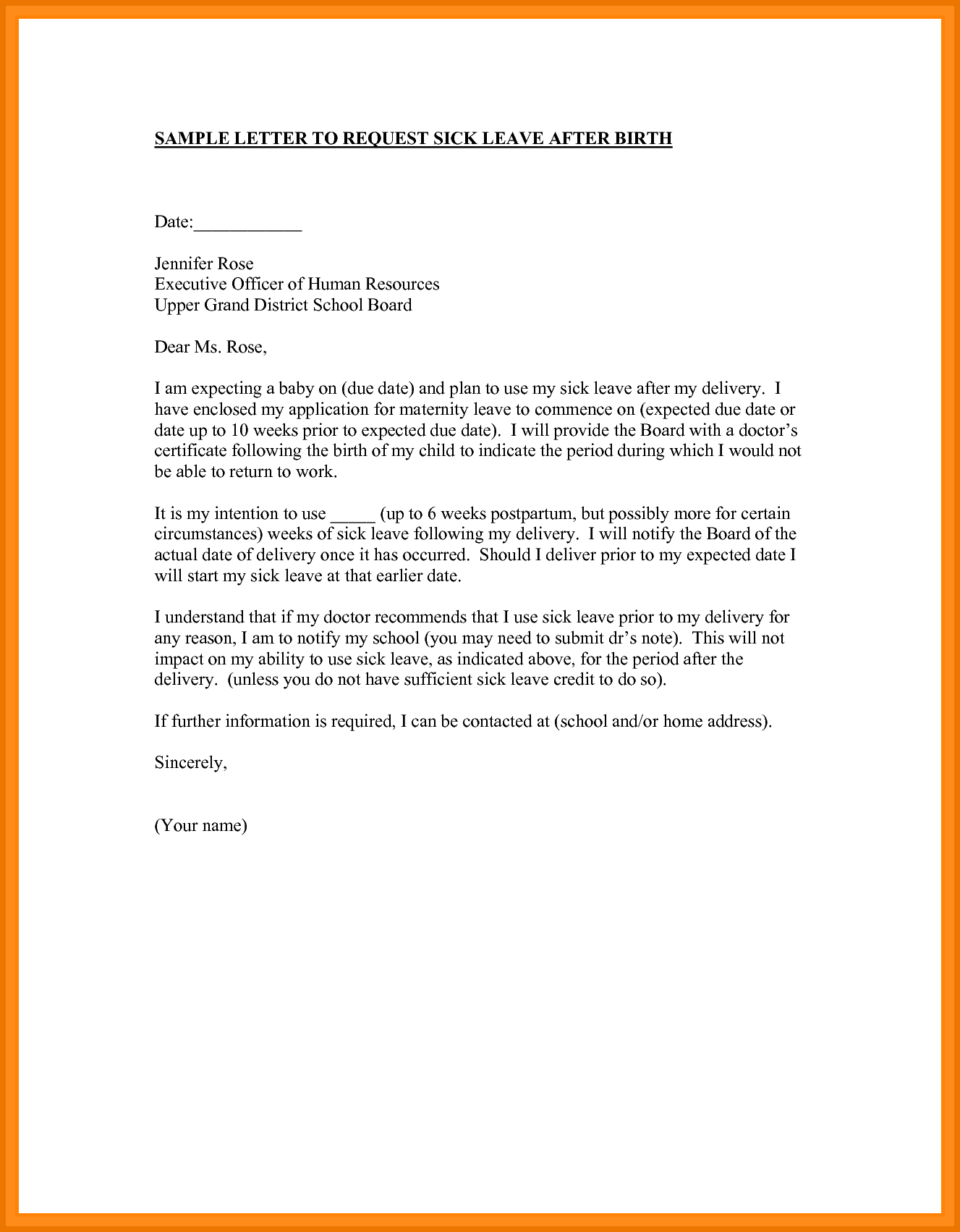 How To Write A Request Letter For Annual Leave  Experts Opinions