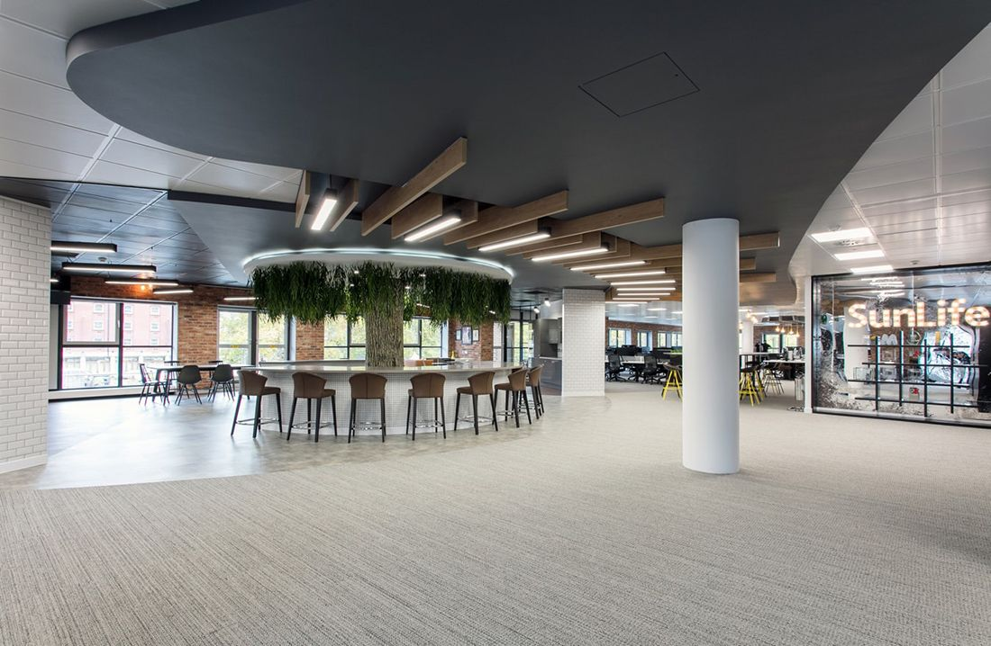 A Peek Inside Sunlife S Cool New Bristol Headquarters With Images