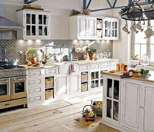 Foto: Maison du Monde | Wohnen | Pinterest | Cucine, Cucina shabby ...