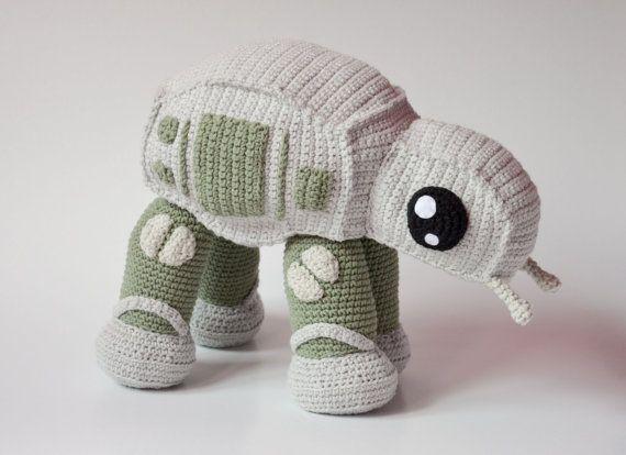 Crochet PATTERN - AT walker by Krawka | Star Wars Häkeln, Häkelideen ...
