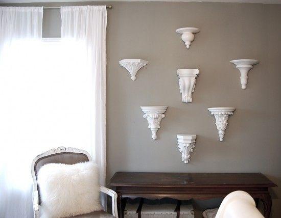 What I Want Wednesday- Decorative Wall Brackets | Wall brackets ...