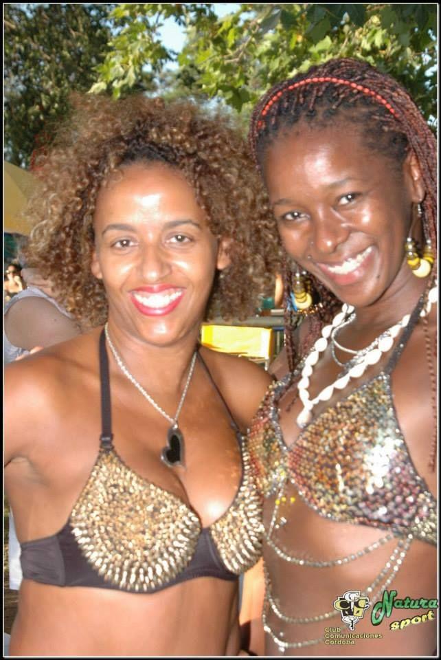 2 auténticas y simpáticas mulatas Brasileiras!