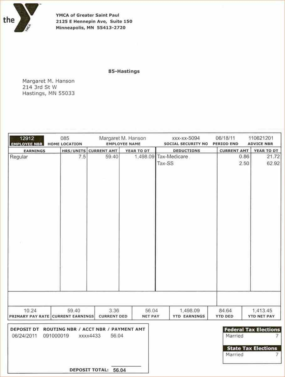 Stub Template Word Paystub Allows Person Or Entity That Has