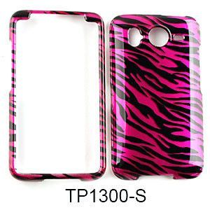 Transparent Design, Hot Pink Zebra Print