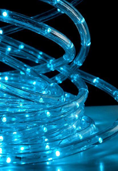 Led Rope Lights 33 Foot Aqua Blue 8 Different Settings 21 Each