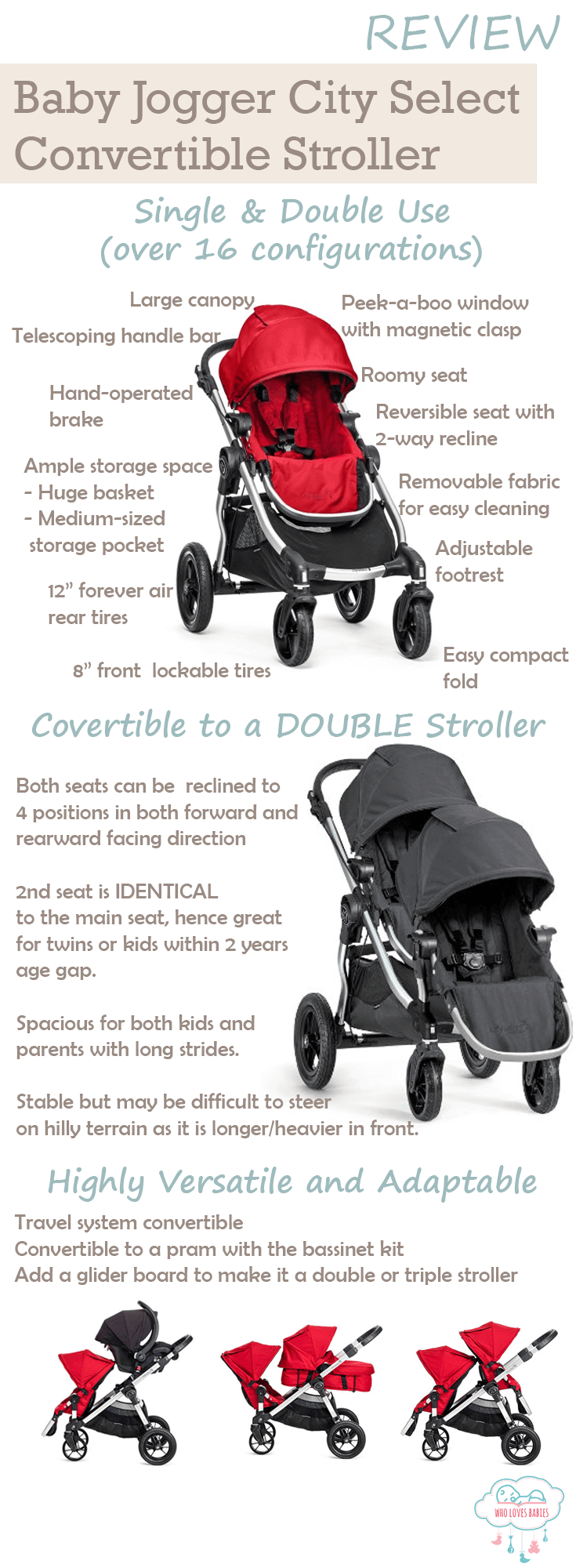 Baby Jogger City Select LUX Review One Of The Best
