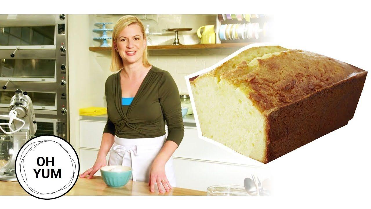 How To Bake The Classic Lemon Pound Cake Oh Yum With Anna Olson Youtube Lemon Pound Cake Lemon Pound Cake Recipe Lemon Dessert Recipes