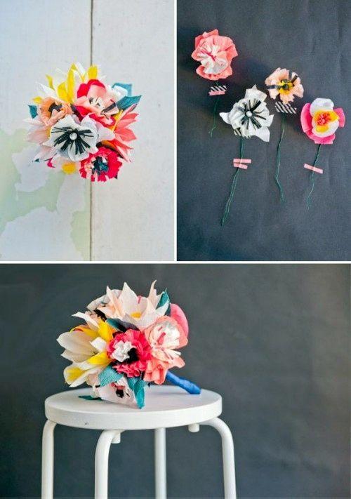 40+ DIY Paper Flower Tutorials You Must See | Pinterest | Paper ...