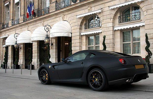 Murdered-Out: 50 Menacing Matte Black CarsFerrari 599 GTB