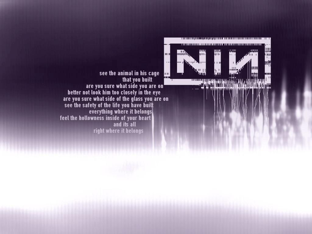 Nine Inch Nails - Right Where It Belongs | Lyrics We Love ...