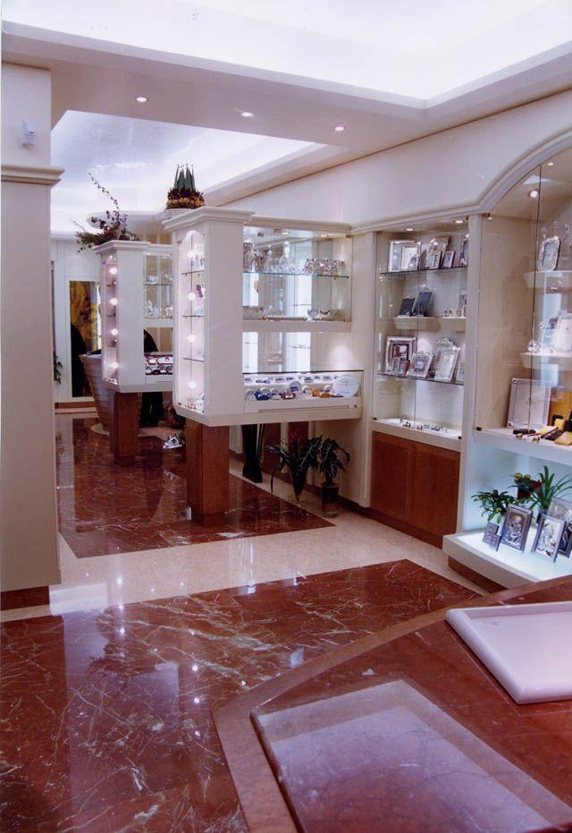 Beautiful Floor In An Italian Jewellery Showroom Ia Sicily