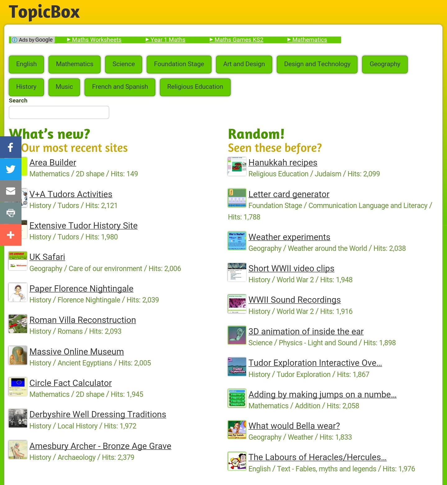 10 Excellent And Free Primary Educational Resource