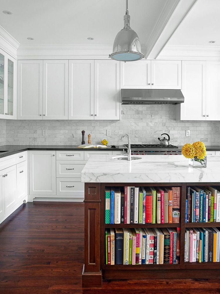 marmor reinigen pflegen küche kücheninsel holz bibliothek #haushalt ...