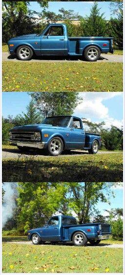 67 72 Chevy C10 Step Side Truck Chevrolet Camioneta