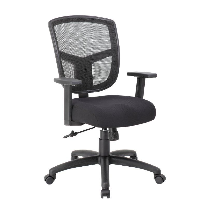Black Mesh Back Office Chair Modern Mesh Chair Mesh Office