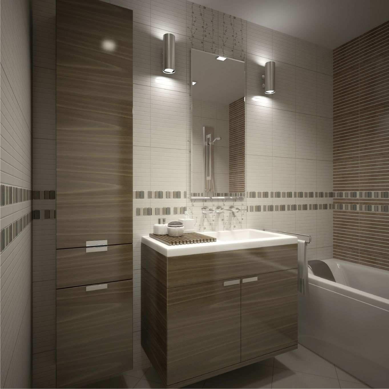 28 idées d\'aménagement salle de bain petite surface | Salle de ...