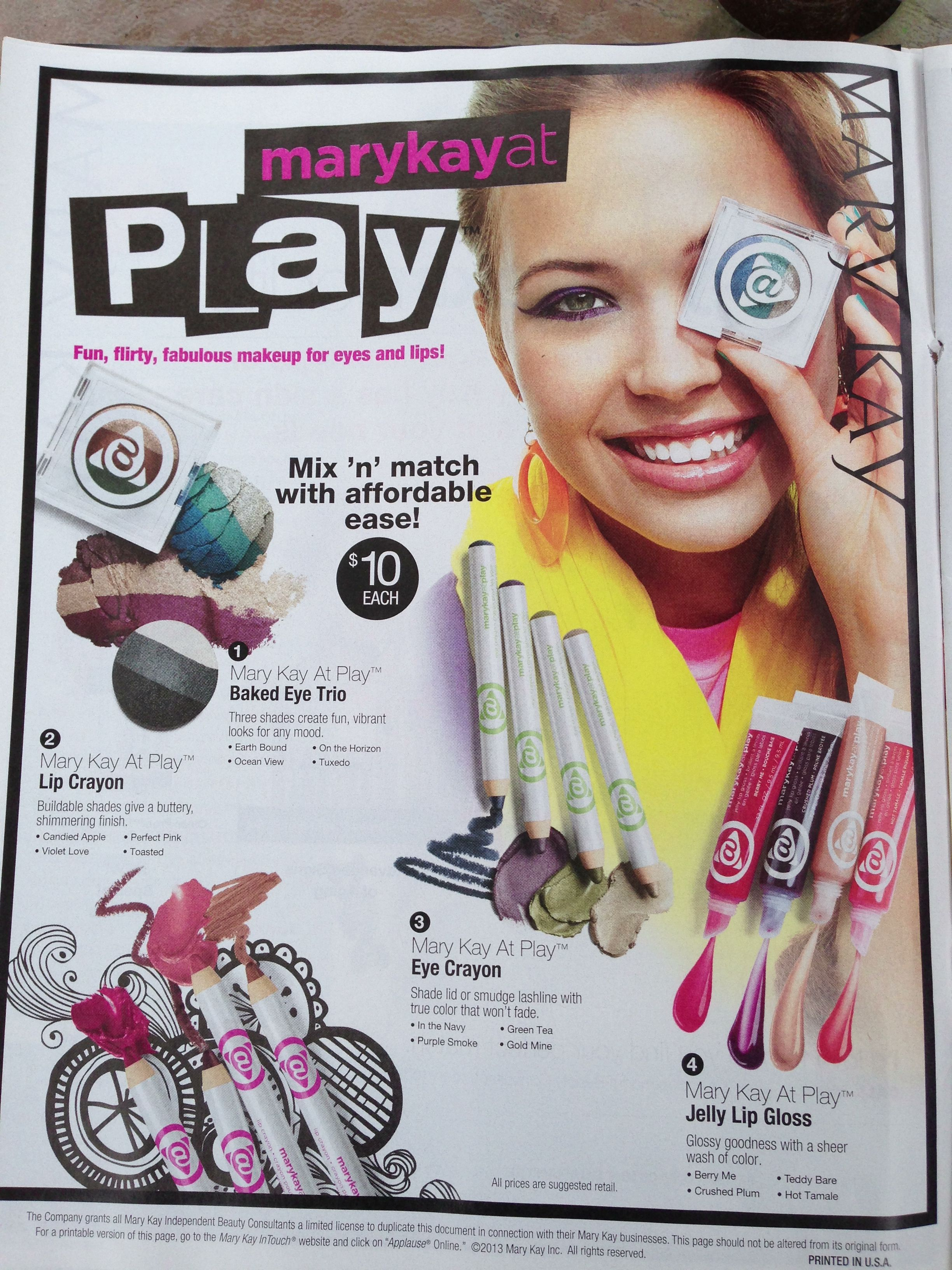 The new Mary Kay April CochranSmith Gerald line from