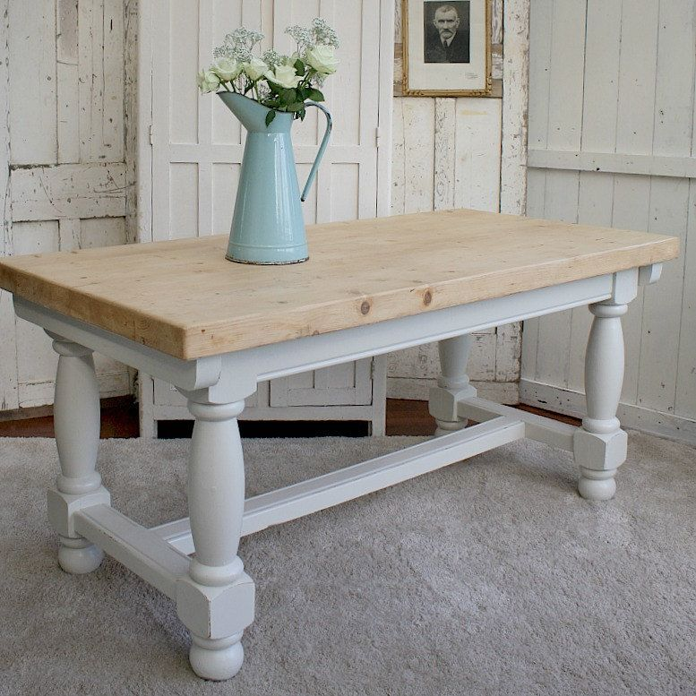 Farmhouse table french country farmhouse painted
