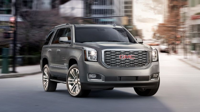 Image Showing Key Features Of The 2019 Gmc Yukon Denali Full Size Luxury Suv Gmc Yukon Denali Yukon Denali Gmc Denali