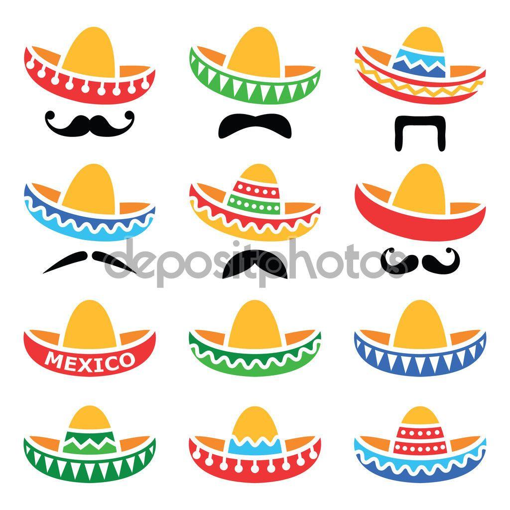 Sombrero Poisk V Google Sombrero Mexicano Bigote Mexicano Manualidades