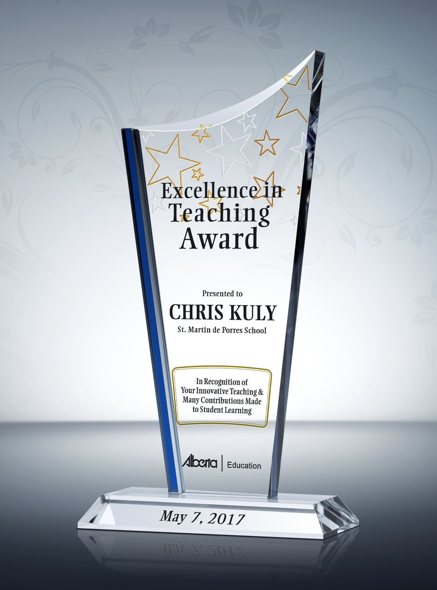 Teaching Excellence Award Plaque Online Shop Promotion