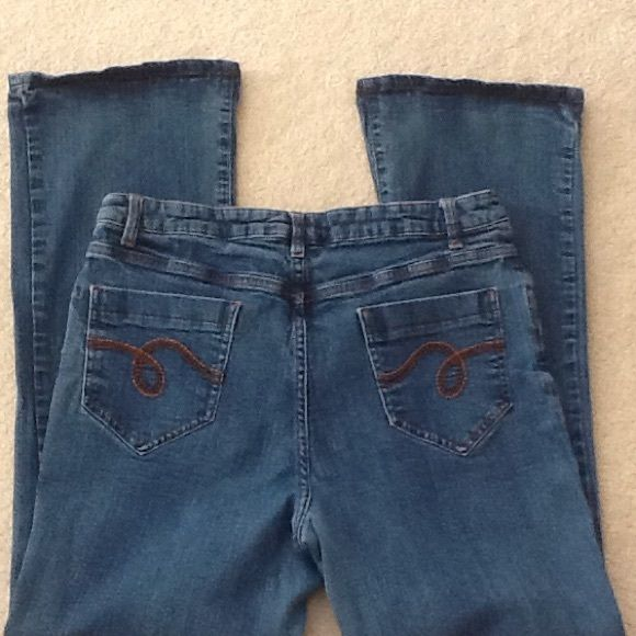 Stretch Jeans  Stretch Jeans previously loved. Very good condition, faded. Boot cut & stretchie. 99% Cotton & 1% Spandex. No holes or fray. Smiths Jeans Boot Cut