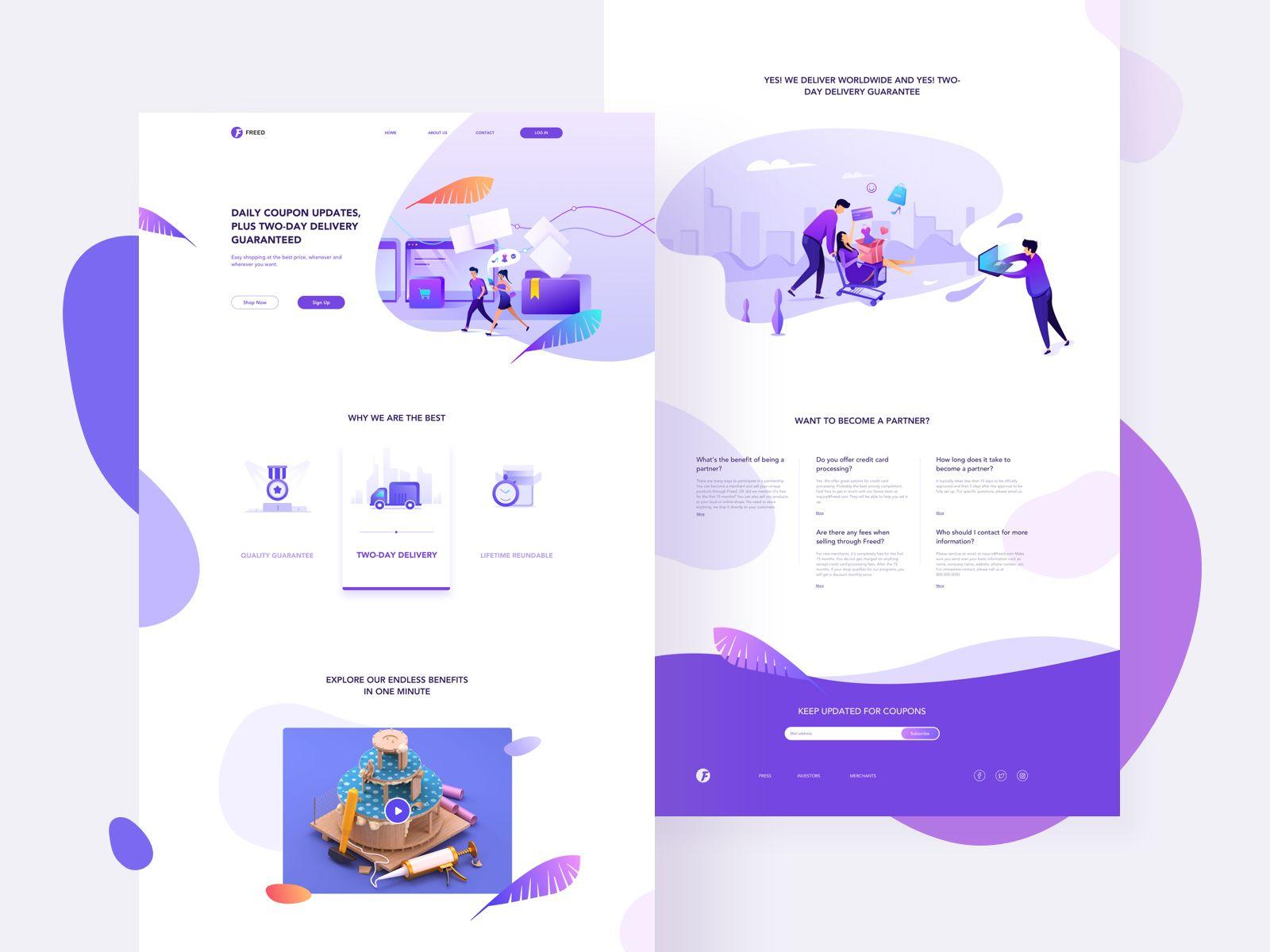 E Commerce Web App Design Branding Web Design Tendances Web