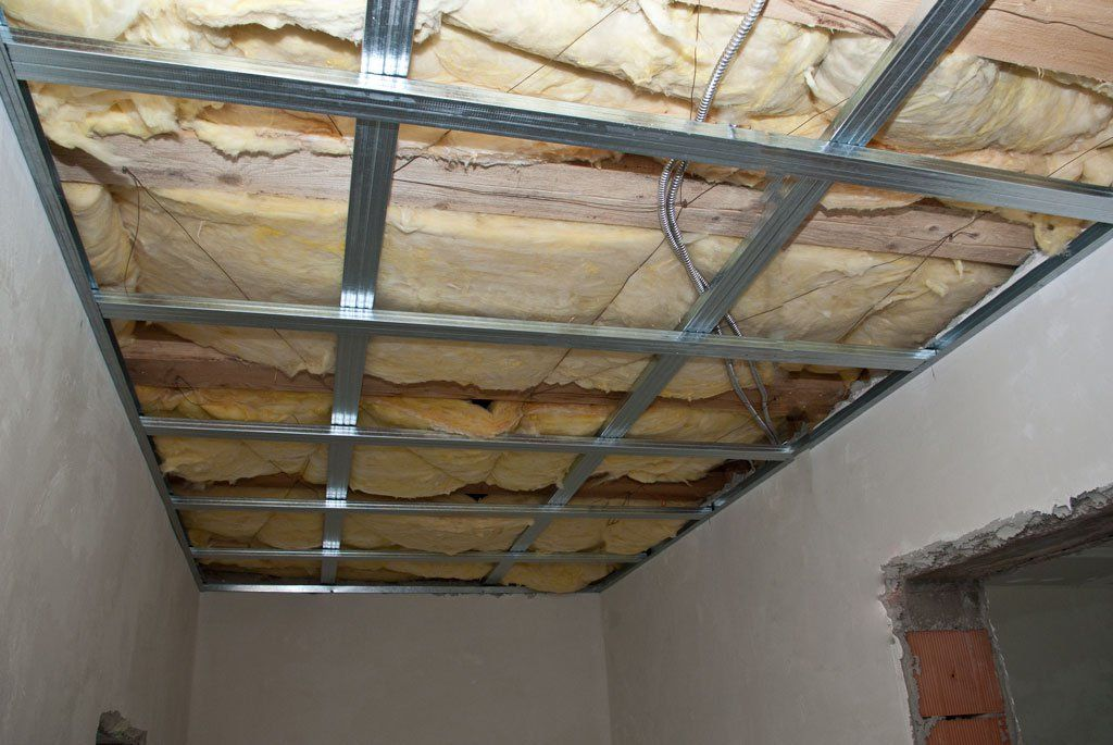 hanging by step build drywall how diy ceilings plans to a pin and install howtospecialist metals ceiling