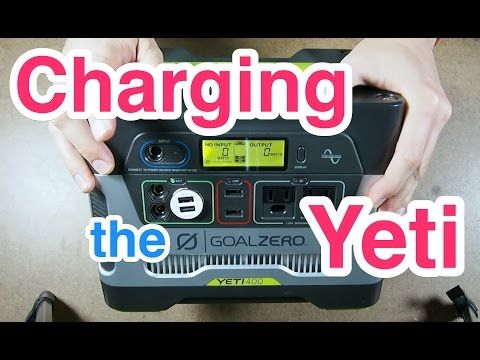 Wiring A Charging Relay For The Goal Zero Yeti 400 Youtube Goal Zero Relay Yeti