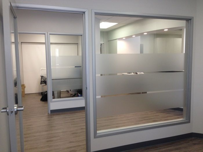 Frosted Glass Stripes Medical Office Decor Pinterest Cas - Window decals for medical offices