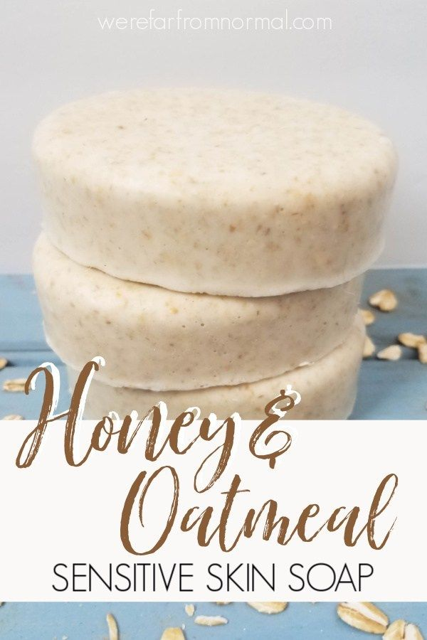 Honey & Oatmeal Soap (great for sensitive skin!)