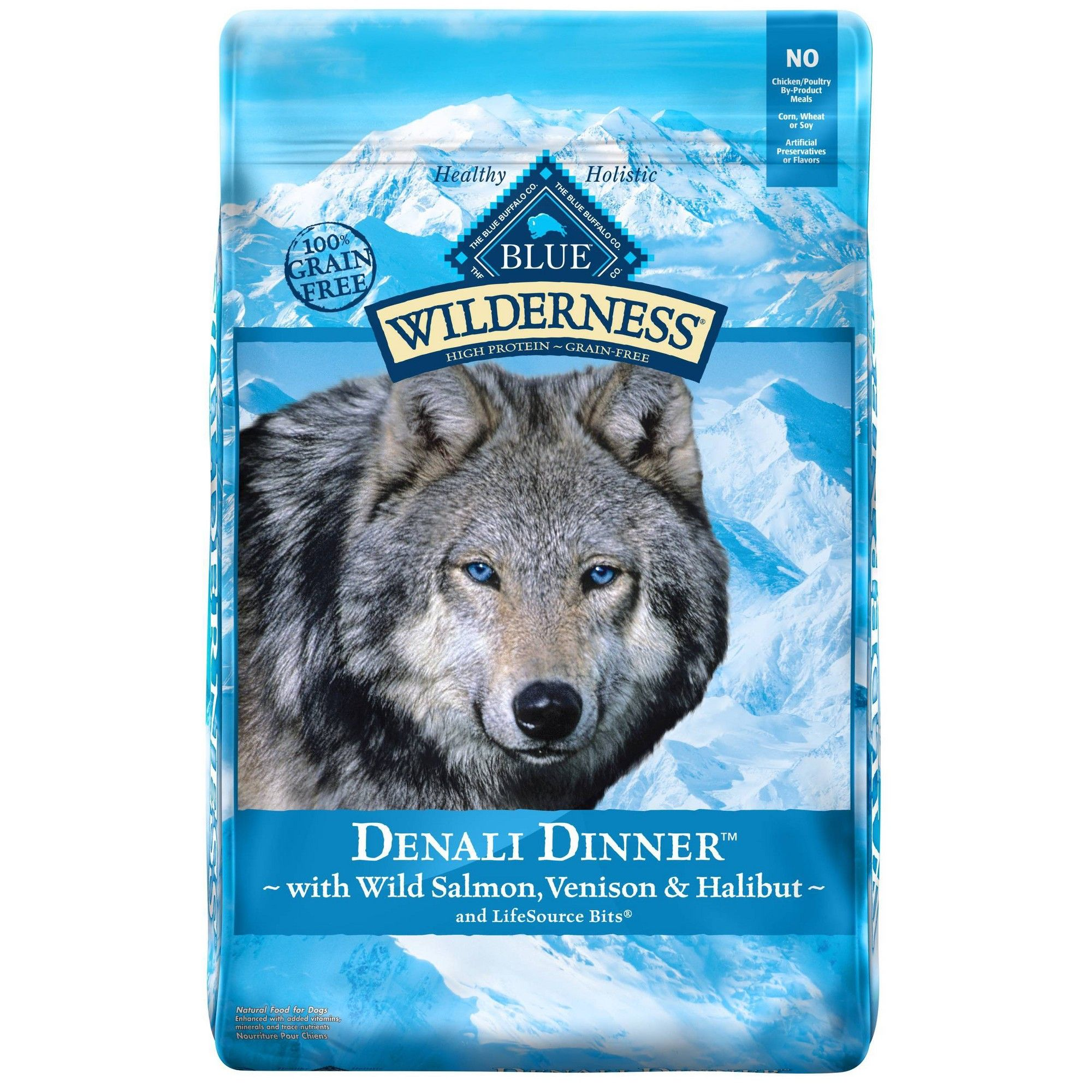 Blue Buffalo Wilderness Dinner Dry Dog Food 22lb Dry Dog Food